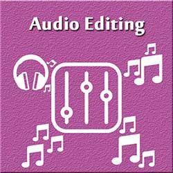 247101 - Graphic Design, Printing & Software Development - Audio Editing