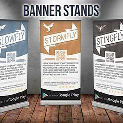 247101 - Graphic Design, Printing & Software Development - Banner Stands
