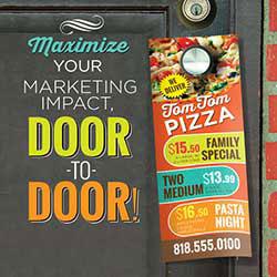 247101 - Graphic Design, Printing & Software Development - Door Hanger