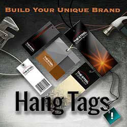 247101 - Graphic Design, Printing & Software Development - Hang Tags