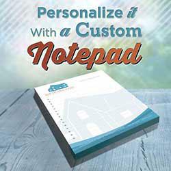 247101 - Graphic Design, Printing & Software Development - Notepads