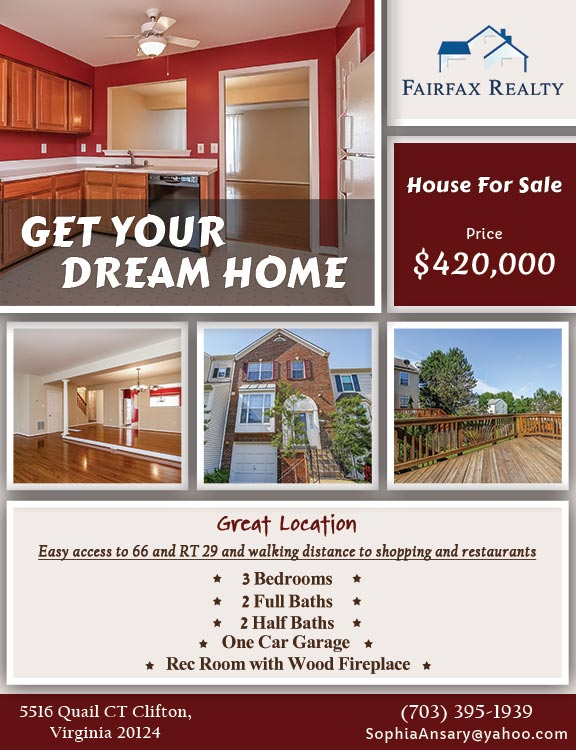 247101 - Fairfax Realty - Flyers - Sophia Ansary