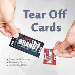 247101 - Tear Off Cards