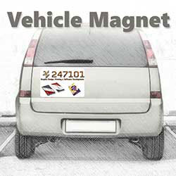 247101 - Vehicle Magnet