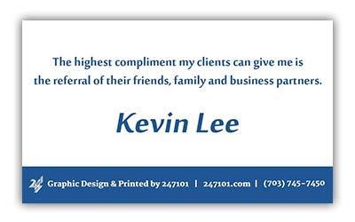 247101 - Fairfax Realty Business Cards