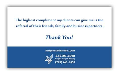 247101 - Fairfax Realty Business Cards