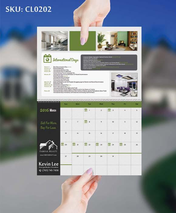 Real Estate Calendars - Real Estate Marketing Material