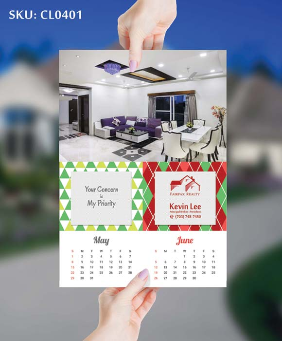 Real Estate Calendars - Real Estate Marketing Material