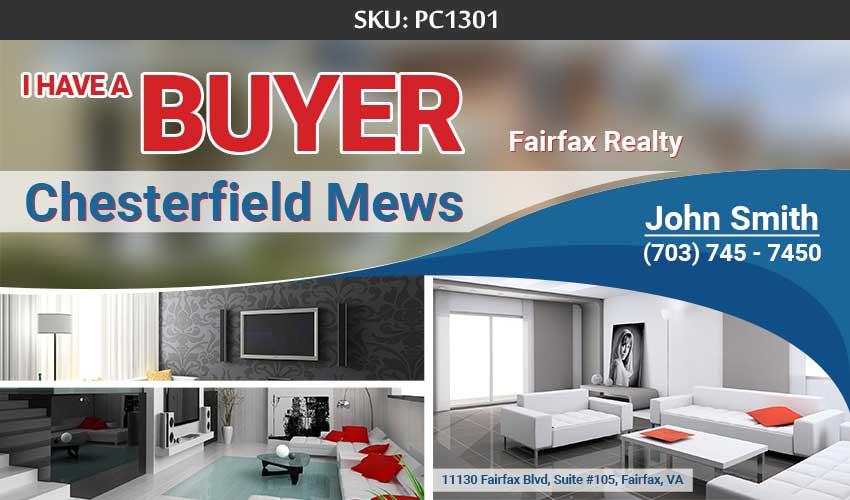 247101 - Fairfax Realty - PostCards for Realtors