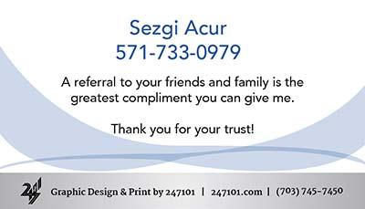 Real Estate Business Cards - 247101.com