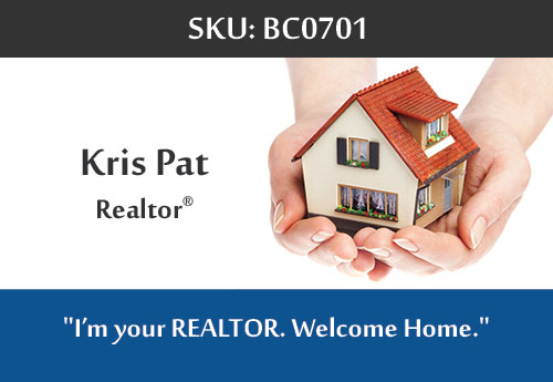247101.com - Kris Pat - Fairfax Realty Business Cards