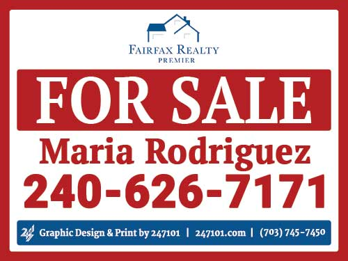 247101.com - Fairfax Realty Signs