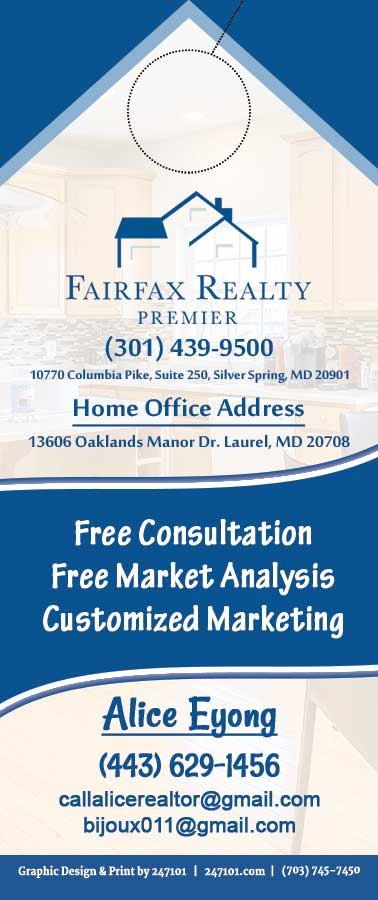 247101.com - Fairfax Realty Door Hangers