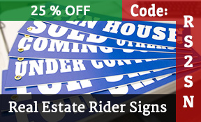 Real Estate Rider Signs