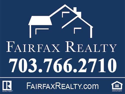 247101.com - Fairfax Realty Panel & Yard Sign