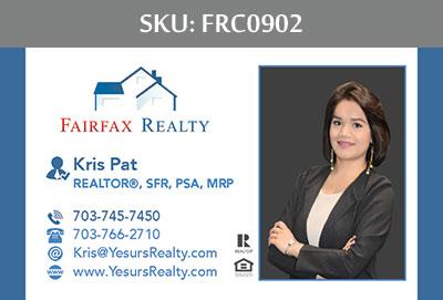 Fairfax Realty Business Cards - FRC0902