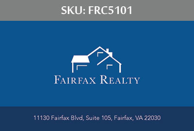 Fairfax Realty Business Cards - FRC5101