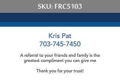 Fairfax Realty Business Cards - FRC5103