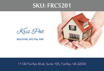 Fairfax Realty Business Cards - FRC5201