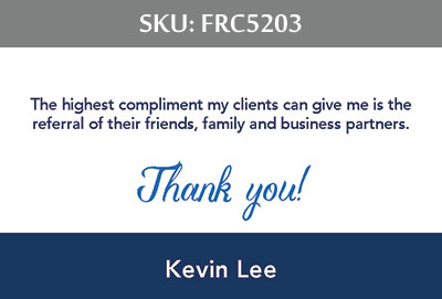 Fairfax Realty Business Cards - FRC5203