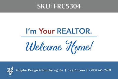 Fairfax Realty Business Cards - FRC5304