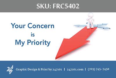 Fairfax Realty Business Cards - FRC5402