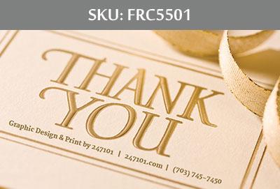 Fairfax Realty Business Cards - FRC5501