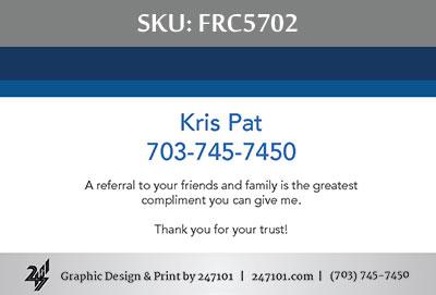 Fairfax Realty Business Cards - FRC5702