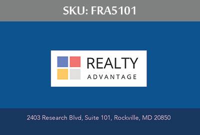 Fairfax Realty Advantage Business Cards - FRA5101