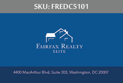 Fairfax Realty Elite DC Business Cards - FREDC5101