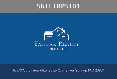 Fairfax Realty Premier Business Cards - FRP5101