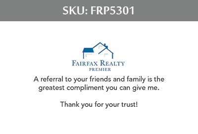Fairfax Realty Premier Business Cards - FRP5301