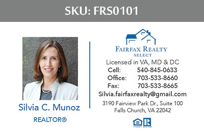Fairfax Realty Select Business Cards - FRS0101