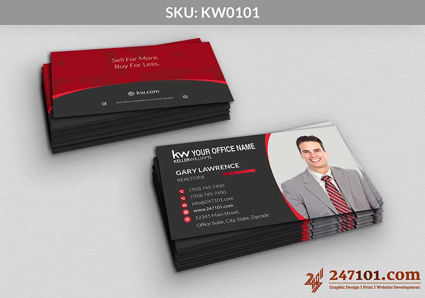 Keller Williams - Business Cards - 247101 - 0101