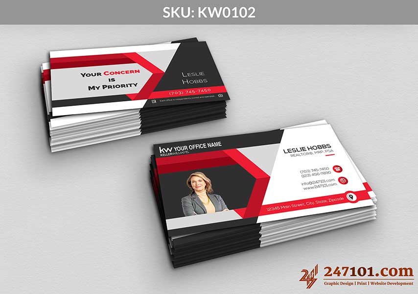 Keller Williams - Business Cards - 247101 - 0102