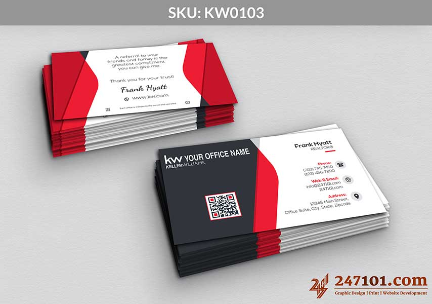 Keller Williams - Business Cards - 247101 - 0103