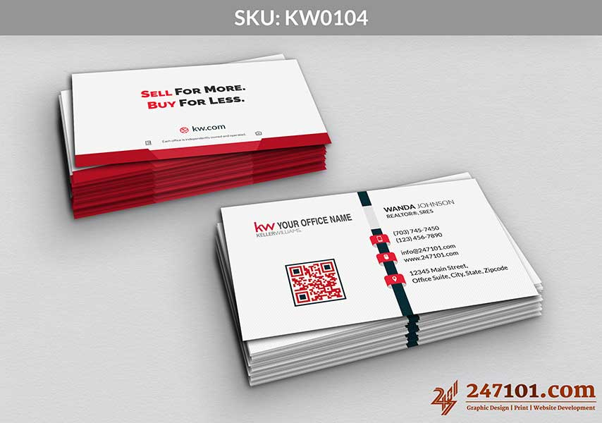 Keller Williams - Business Cards - 247101 - 0104