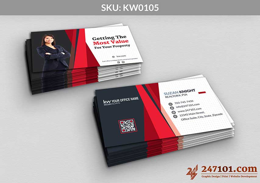 Keller Williams - Business Cards - 247101 - 0105