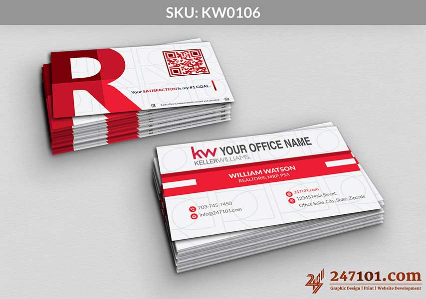 Keller Williams - Business Cards - 247101 - 0106