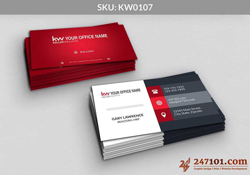Keller Williams - Business Cards - 247101 - 0107