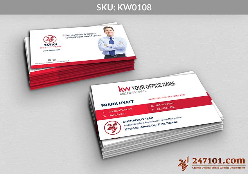 Keller Williams - Business Cards - 247101 - 0108