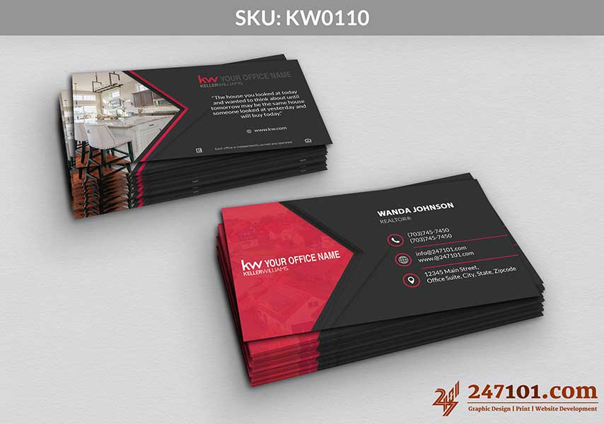 Keller Williams - Business Cards - 247101 - 0110
