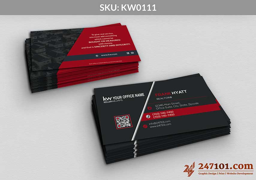 Keller Williams - Business Cards - 247101 - 0111