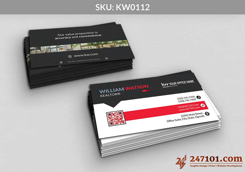 Keller Williams - Business Cards - 247101 - 0112