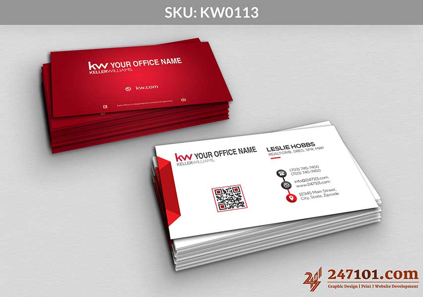 Keller Williams - Business Cards - 247101 - 0113