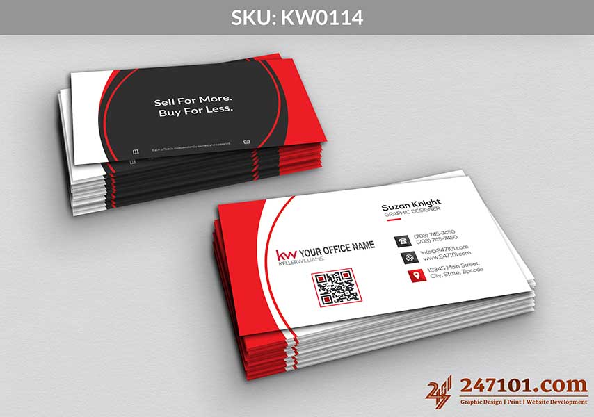 Keller Williams - Business Cards - 247101 - 0114