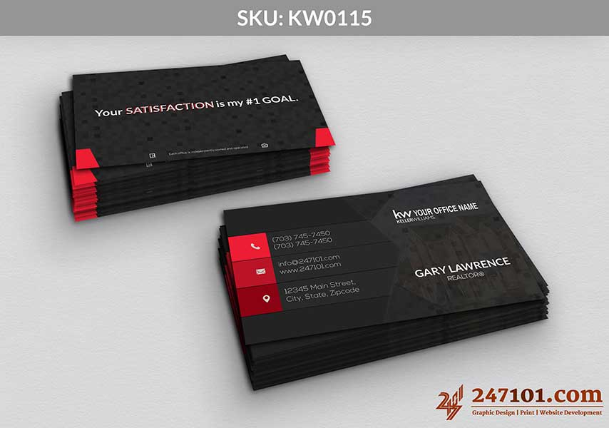 Keller Williams - Business Cards - 247101 - 0115