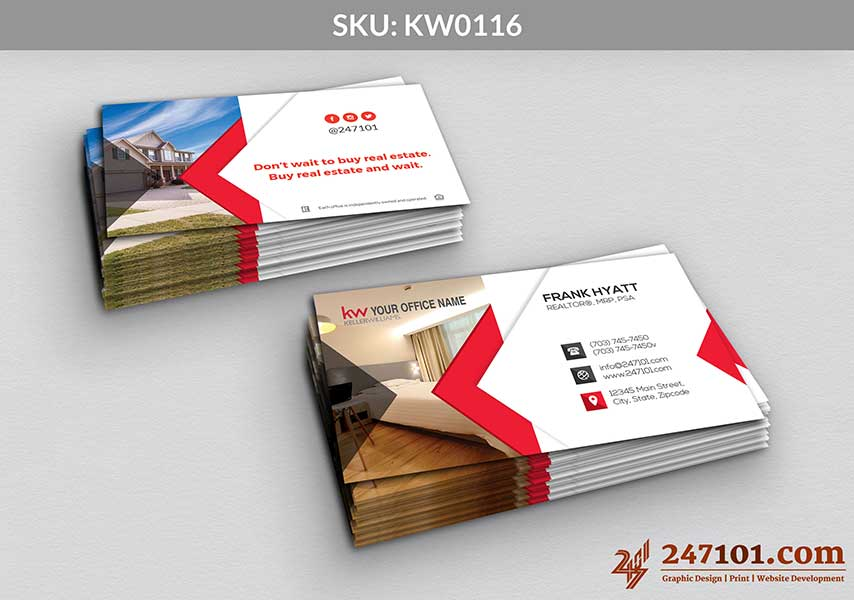 Keller Williams - Business Cards - 247101 - 0116