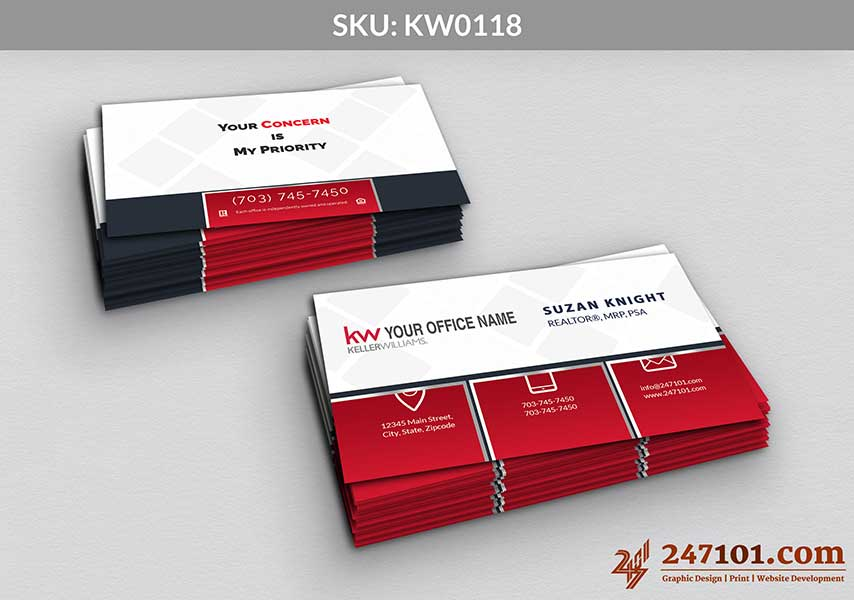 Keller Williams - Business Cards - 247101 - 0118