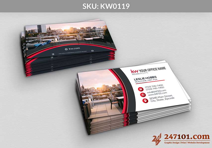 Keller Williams - Business Cards - 247101 - 0119